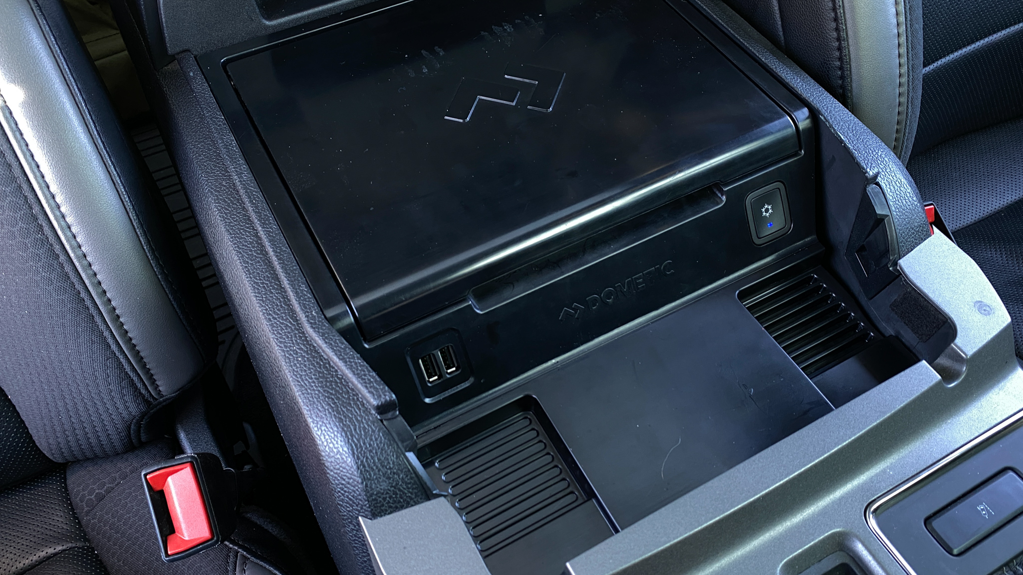 Dometic CCF-T Ford F-150 Console Fridge Install and Review