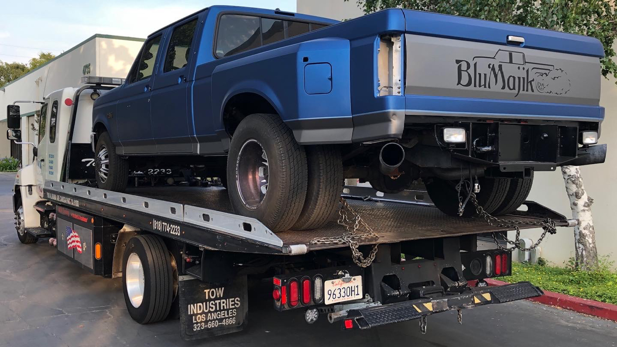Project BluMajik Ford F-350: In The Home Stretch