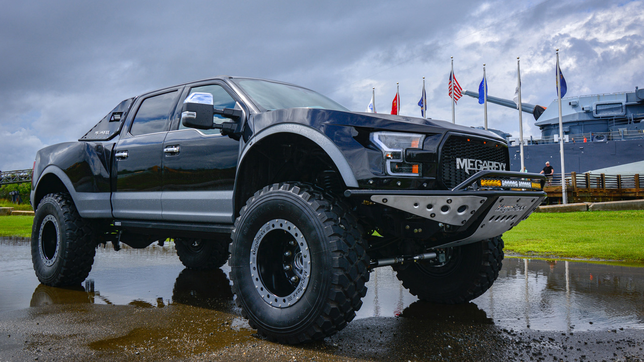 Your Ford Raptor Is Too Small—Meet the MegaRexx MegaRaptor