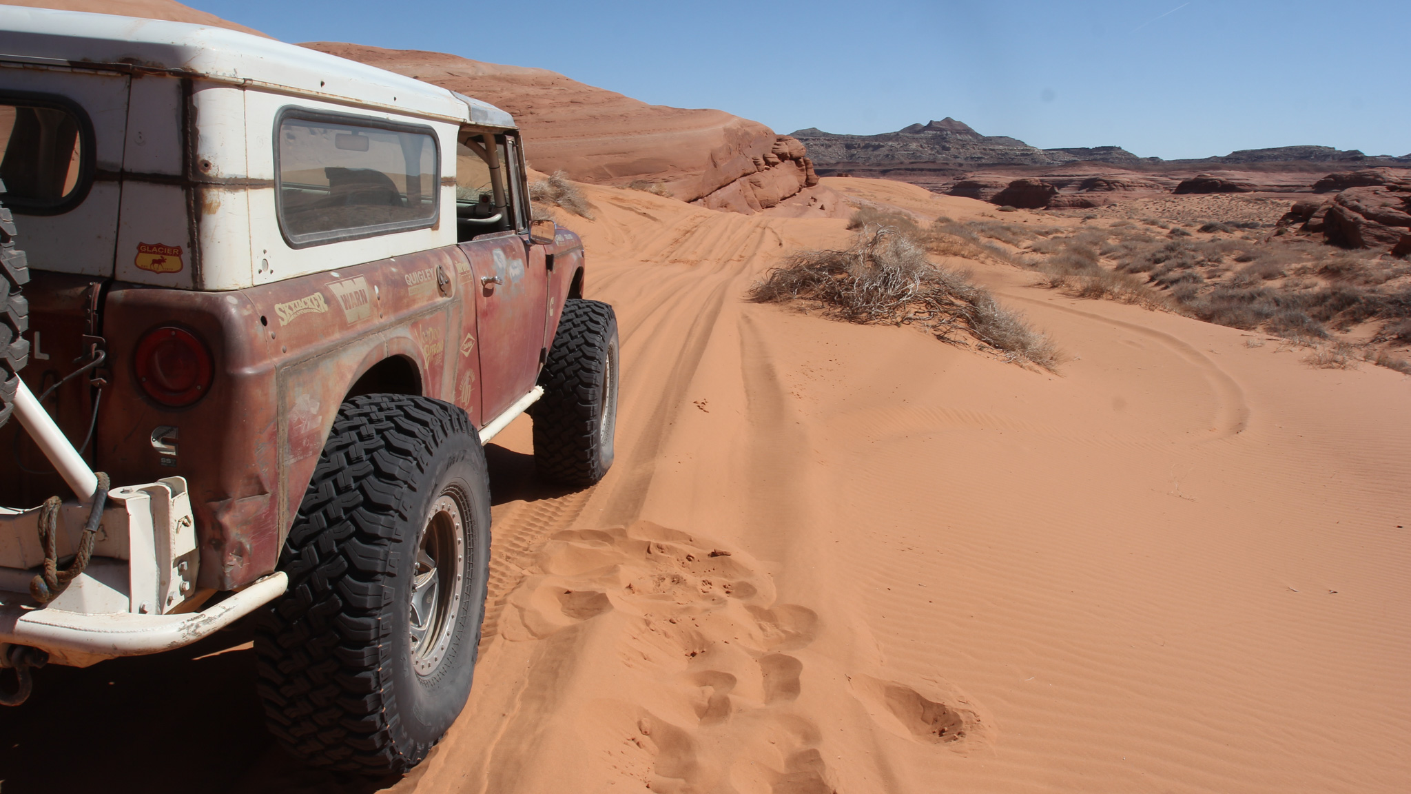 What is your favorite Moab-area 4x4 trail?