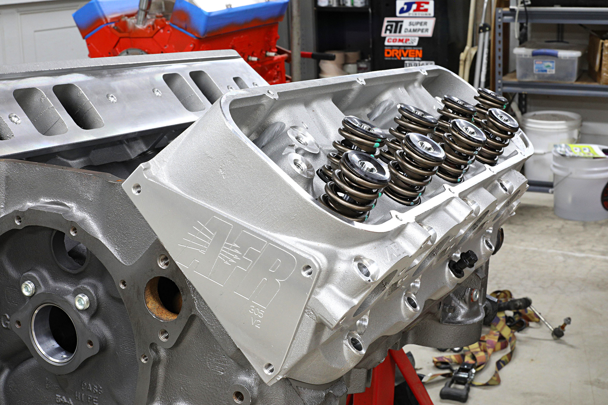 Building a High-Performance Big-Block Chevy Top End | Car in My Life
