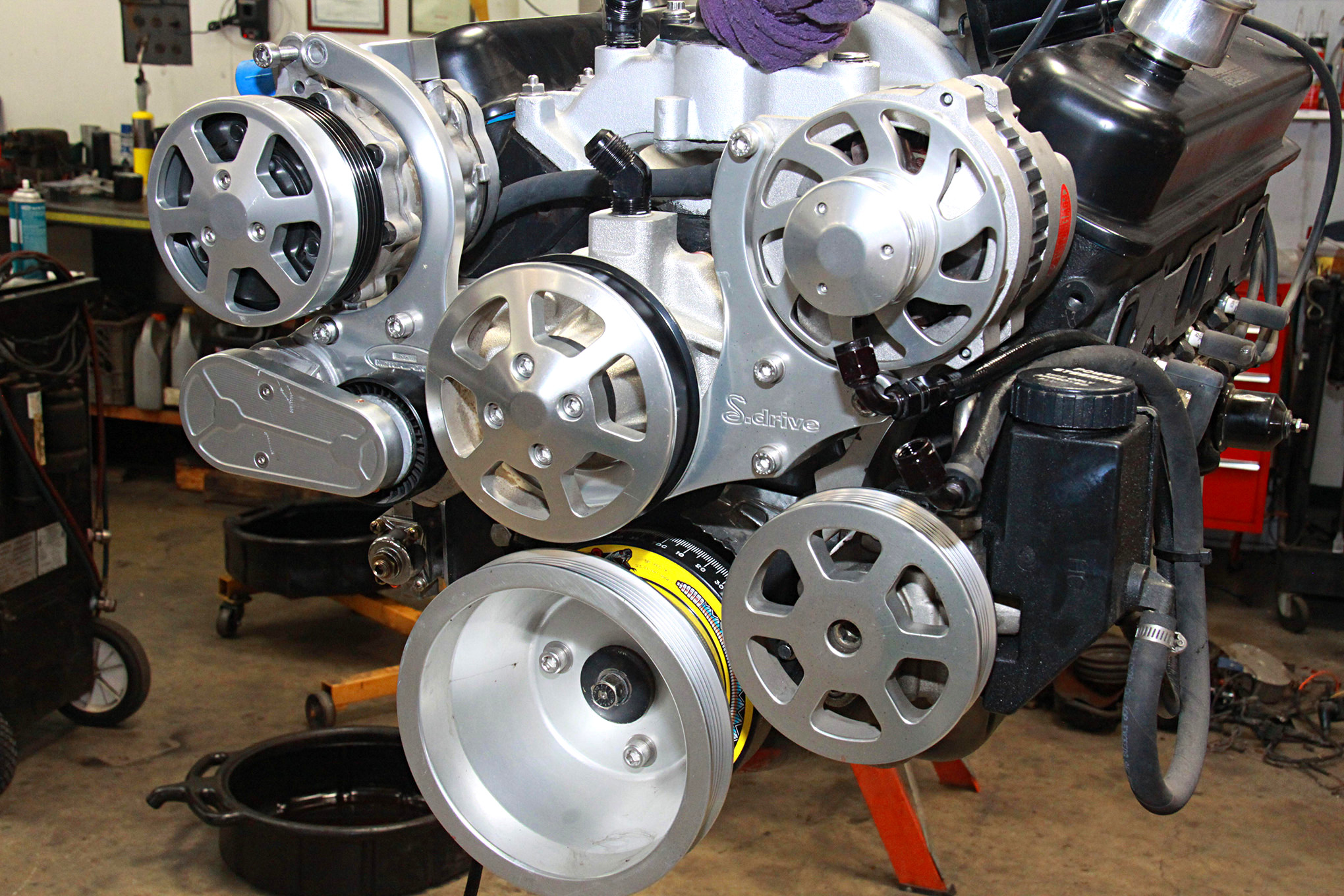 Chevrolet Performance SP350/385 crate engine swap