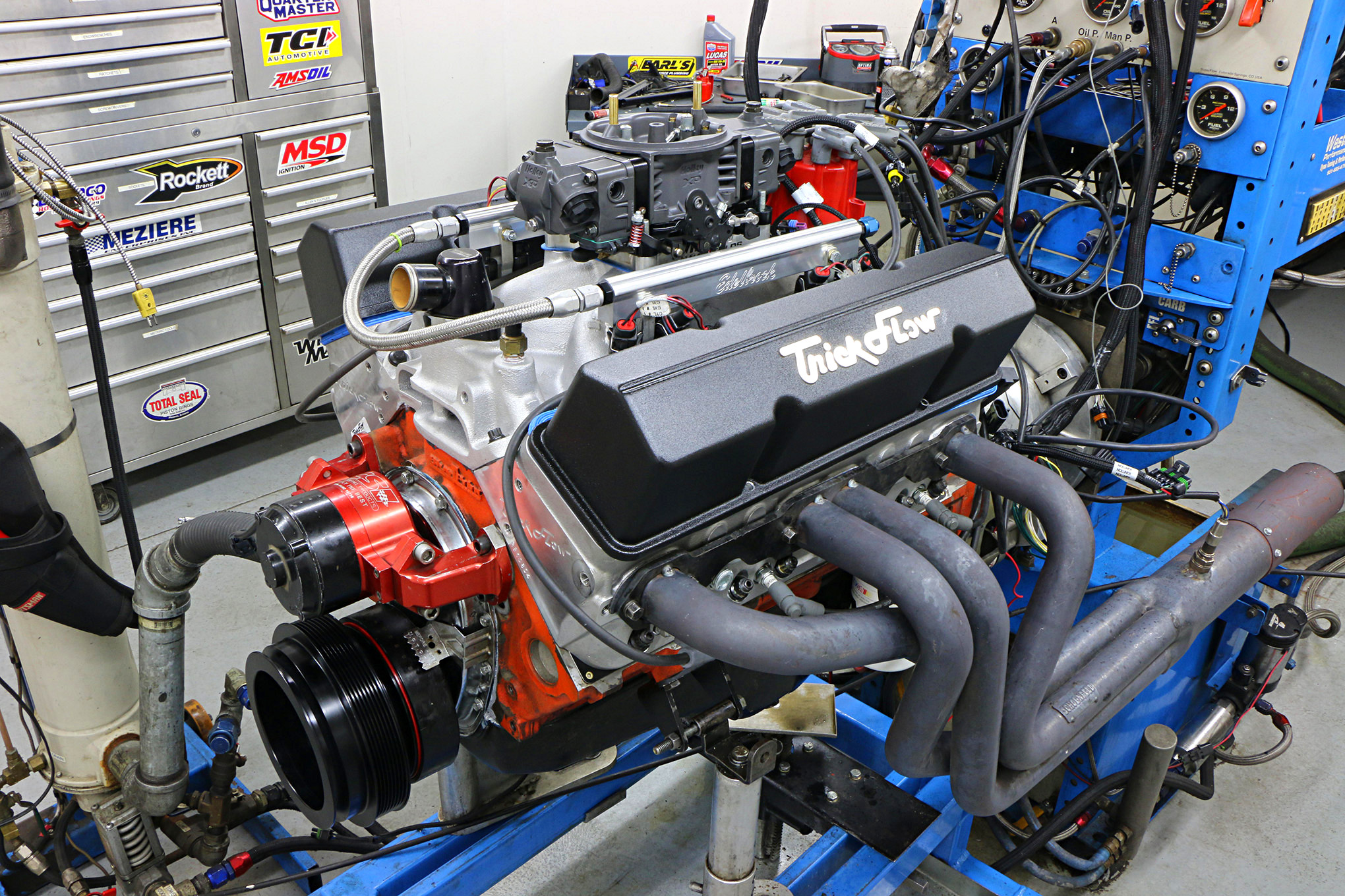 1,000 HP From a Broken-In 400-Inch Small-Block Chevy on